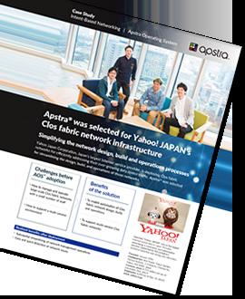 Case Study - Yahoo Japan deploys Apstra
