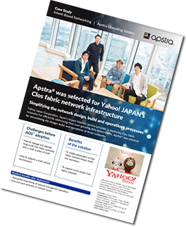 Case Study - Yahoo Japan deploys Apstra