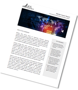 ACG Market Impact Report - Intent-Based Networking with AOS.
