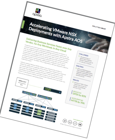 Solution Brief Accelerating VMware NSX Deployments with Apstra AOS thumbnail