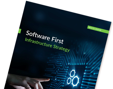 Software First Infrastructure Strategy